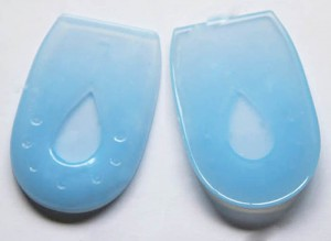 Silicone spur cushion