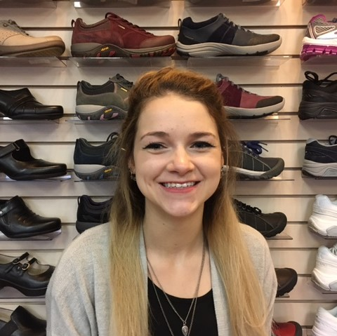 Leah Dolhanty - Office Admin and Shoe Fitter