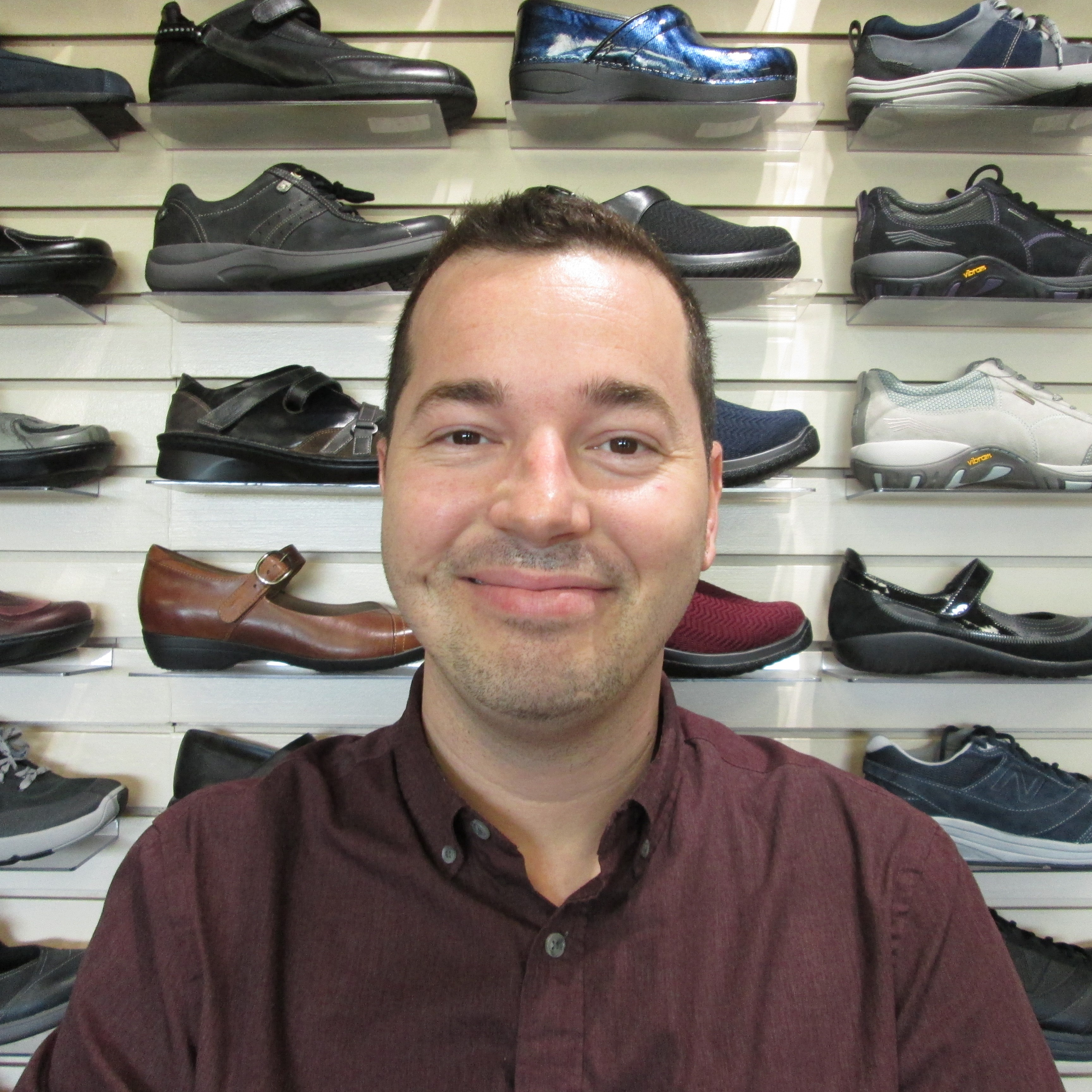 Eric Wood - Office Admin and Shoe Fitter
