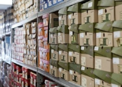 Shoe Inventory Room